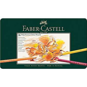 Faber-Castell Polychromos Colour Pencil 36 Tin