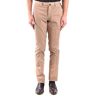 Incotex Ezbc093055 Men's Beige Cotton Pants