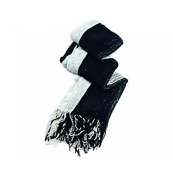 Intrigue Unisex Colour Block Knitted Scarf