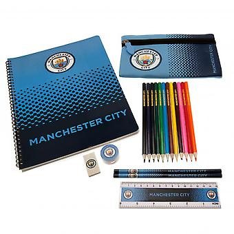 Manchester City FC Official Ultimate Stationery Set