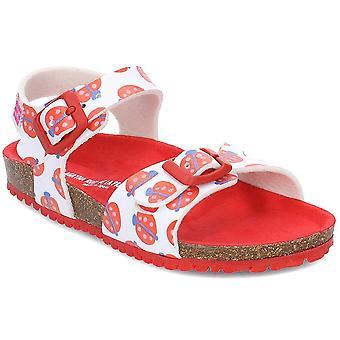 Agatha Ruiz De La Prada 192982 192982ABLANCOYMARIQUITAS3034 sapatos universais de verão para crianças