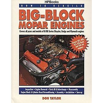 How to Rebuild Big Blk Mopars Book