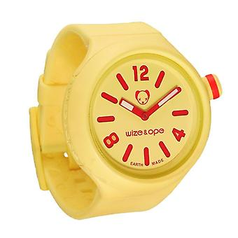 Wize and Ope Yellow Jumbo  Shuttle Watch JB-SH-6