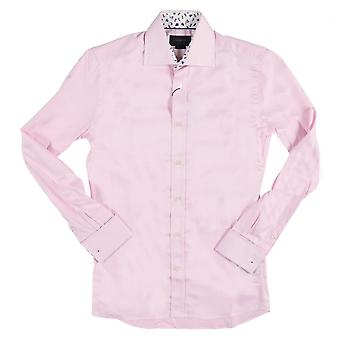Duchamp of London Gentleman's Contrast Shirt, Baby Pink