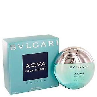 Bvlgari Aqua Marine By Bvlgari Eau De Toilette Spray 3.4 Oz (men) V728-449256