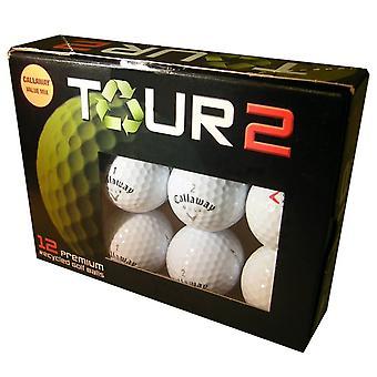 Callaway Premium Players Grade A Golf Balls (Pack of 12) - Blanc