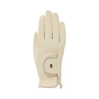 Roeckl Roeck-grip (chester) Horse Riding Gloves - Champagne