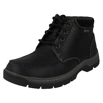 Mens Clarks Boots Stanten tijd GTX