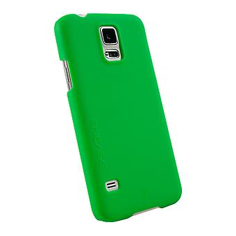 WirelessOne Encase Rubberized Hard Case for Samsung Galaxy S5 - Green