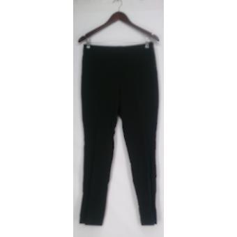 Kelly by Clinton Kelly Pants Pull-On Knit Pants Black A276348