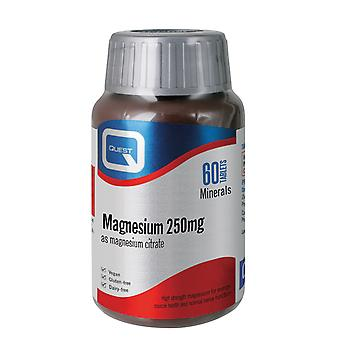 Quest Magnesium 250 mg 60 Tablets