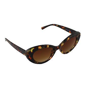 Solglasögon Ladies Cat Eye - Leopard Bruin2716_2