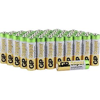 AA battery Alkali-manganese GP Batteries Super 1.5 V 40 pc(s)
