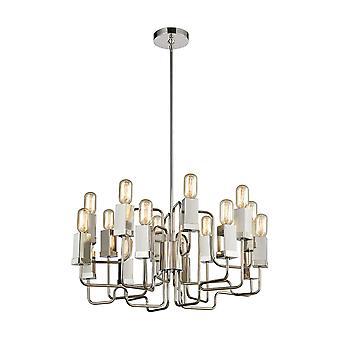 Symposium 16-light chandelier