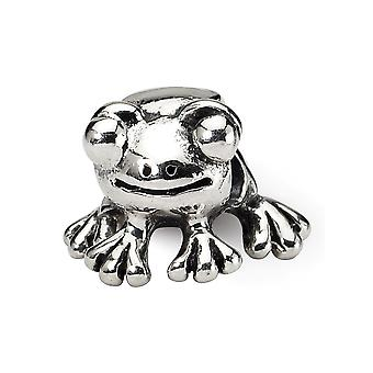 925 Sterling Silver Vintage loppuun Reflections Frog Helmi Charm riipus kaulakoru korut lahjat naisille