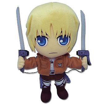 Felpa - Ataque a Titán - Armin Soft Doll Anime Gifts Toys Licensed ge52561