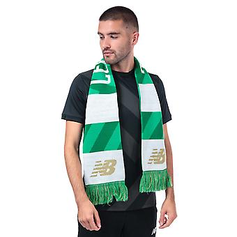 New Balance Celtic Supporters Scarf In Green White