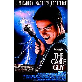 Affiche de cinéma original de Cable Guy