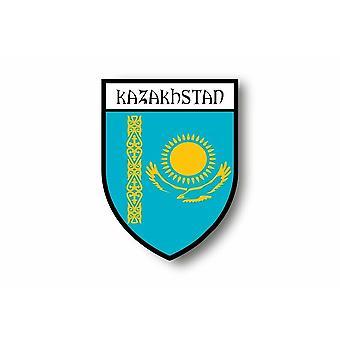 Sticker Auto Auto Blason Città Bandiera Kazakistan Kazakistan