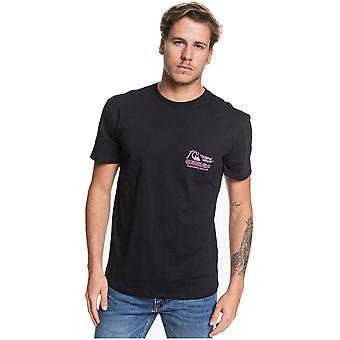 Quiksilver Daily Wax Short Sleeve T-Shirt in Black
