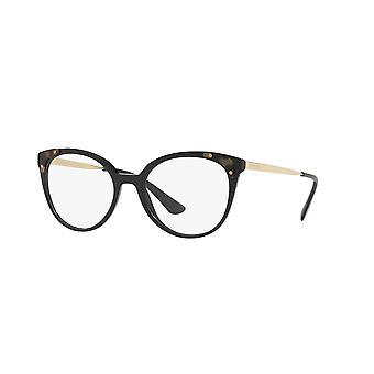 Prada VPR12U 1AB1O1 Black Glasses