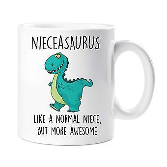 Nieceasaurus القدح