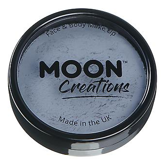 Moon Creations - Pro Face & Body Paint Cake Pots - Dark Grey