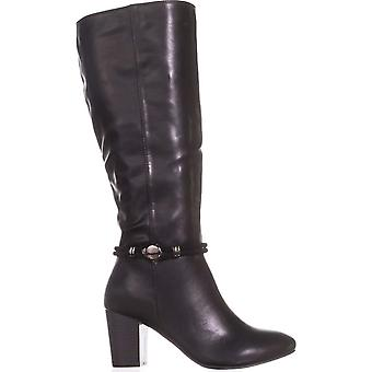 Karen Scott Womens Galee dedo fechado, altura do joelho, moda botas
