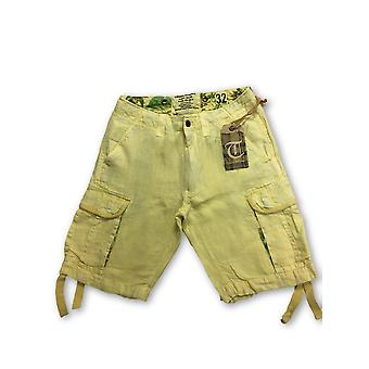 Tailor Vintage shorts in yellow