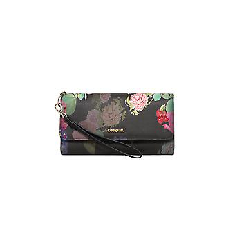 Desigual Women's Black Floral Iris Sara Purse Wallet