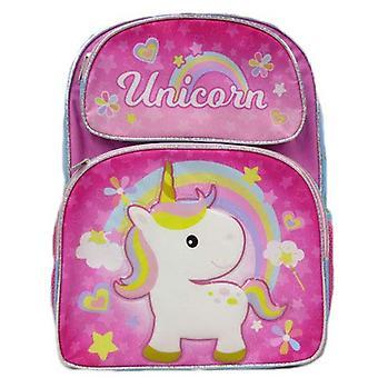 Backpack - Unicorn - Cute Rainbow Pink New 005108