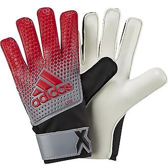 adidas Performance Hommes X Lite Football Sports Goalie Goalie Gants - Gris