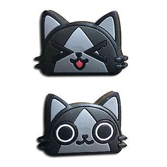 Pin Set - Monster Hunter - Merarou Faces (Set of 2) New ge50238