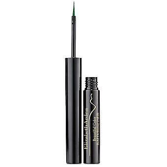 Elizabeth Arden Beautiful Color Bold Defining 24Hr Liquid Eye Liner 1.7ml Mystic Green #05