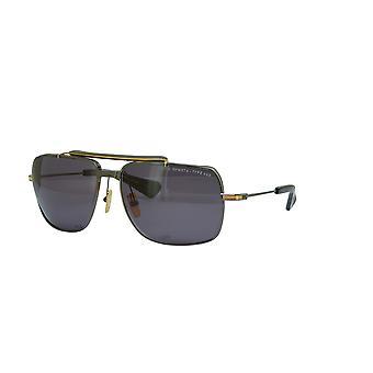 Dita Symeta-Type 403 DTS126 03 Black Ruthenium-Yellow Gold/Dark Grey Sunglasses