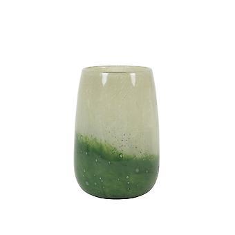 Lys & Levende Vase 13x19cm Pilaneo Glass Grønn-Lys Grønn