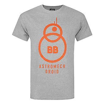 Star Wars The Force Awakens BB-8 Astromech Droid Men's T-Shirt