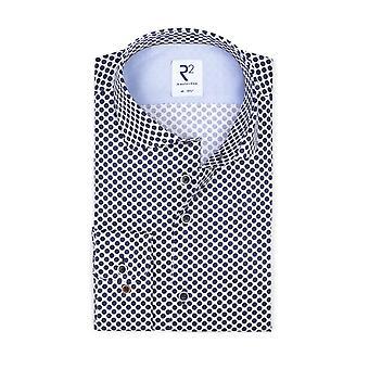 R2 Long Sleeved Shirt Navy Spot