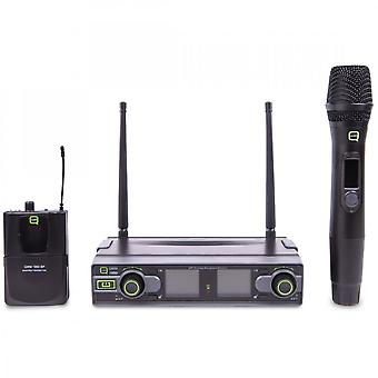 Q-Audio Q-audio Qwm1950hhbp Dual Uhf Wireless System - Ch70