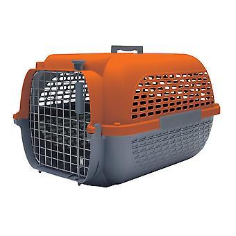 Dogit Voyageur Dog Carrier Grey/Orange - Medium
