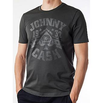 Johnny Cash Unisex Adults 1932 Design T-shirt