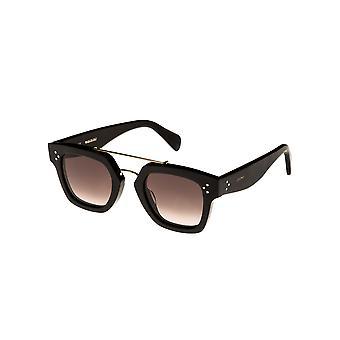Celine CL40024U 01F Shiny Black/Gradient Brown Sunglasses