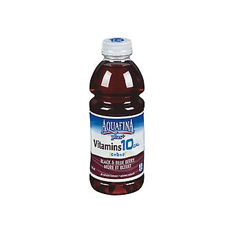 Aquafina Plus Svart & Blåbær-( 591 Ml X 12 Flasker )