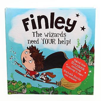 Historie og Heraldry Magiske Navn Storybook - Finley
