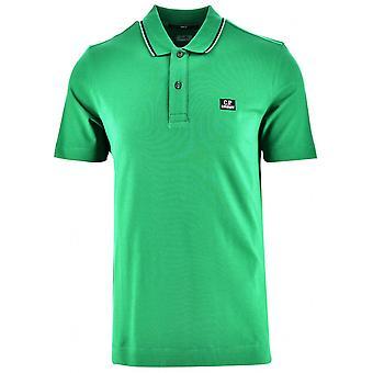 C.P. Company C.P. Company Green Slim Fit Polo