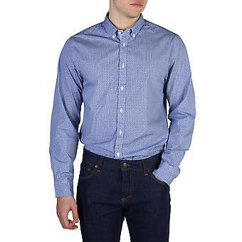 Tommy Hilfiger Original Men All Year Shirt - Blue Color 40592