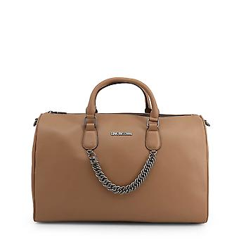 Love Moschino Original Women Fall/Winter Handbag - Brown Color 40530