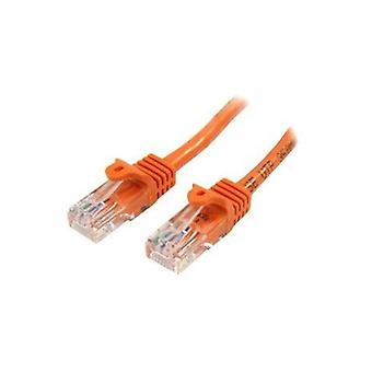 Startech 7M Orange Snagless Cat5E Patch Cable