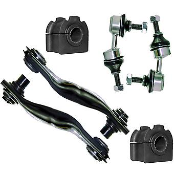 For Jaguar X-Type Rear Lower Control Arms, Anti Roll Bar Bushes & Drop Links Kit C2S20741