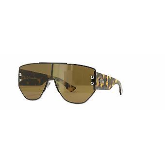 Dior Addict 1 V81/2M dunkle Ruthenium-Schwarz/Braun Sonnenbrille